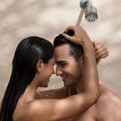 Sex in small shower how to