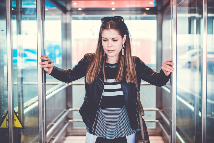 I Got Stuck In An Elevator With A Guy Who Wasn't My Type & It Made Me Realize Some Important Things