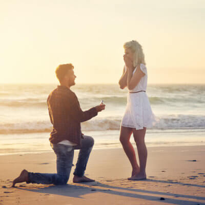 I Almost Threw Up On My Fiancé When We Got Engaged