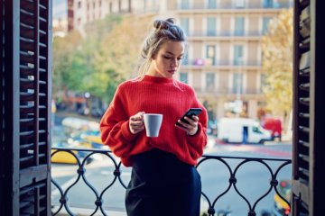 If You Can't Stop Checking In On Your Ex, Here's What May Be Happening