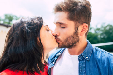 Here's What That Kiss You Shared With Him Really Meant