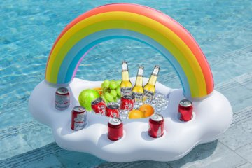 This Inflatable Floating Bar Is Your New Must-Have Summer Accessory