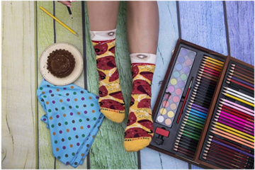 Why Haven't You Bought These Pepperoni Pizza Socks Yet?