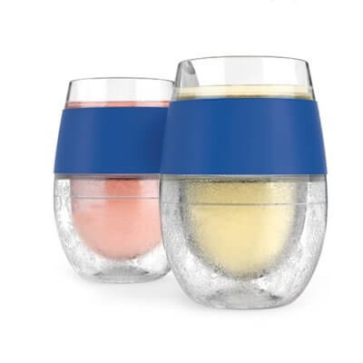 These Freezable Wine Glasses Will Keep Your Chardonnay Cold For Hours