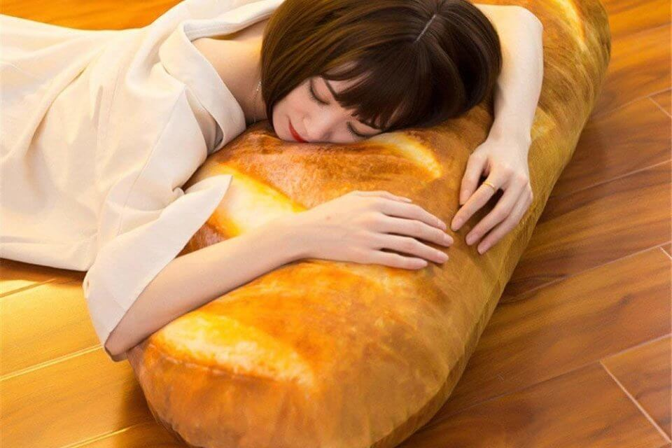 This Baguette Body Pillow Makes Carbs Cuddly & We Love It