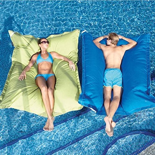 The King Kai Pool Float Feels Like Putting Your Bed On Water & It's Genius