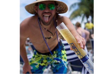 The Bierstick Is A Whole New Kind Of Beer Bong & We Need It Now