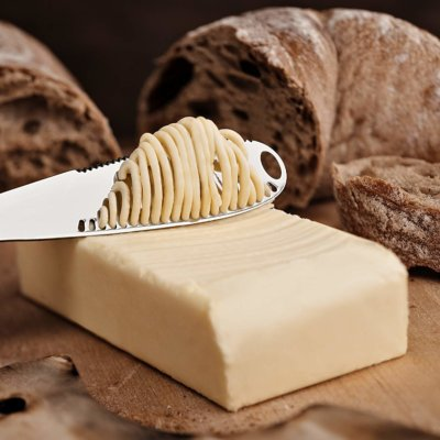 This Butter Knife Will Help You Make Perfect Toast Every Single Time