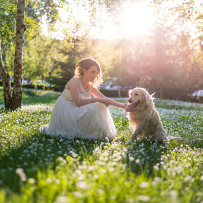 After More Than 200 Bad Dates, This Woman Is Marrying Her Dog