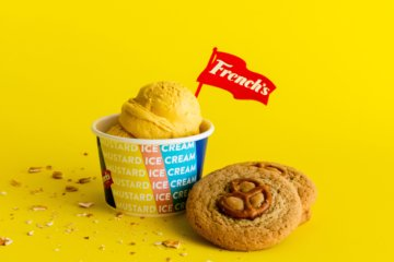 Mustard Ice Cream Is A Thing & We're Weirdly Into It