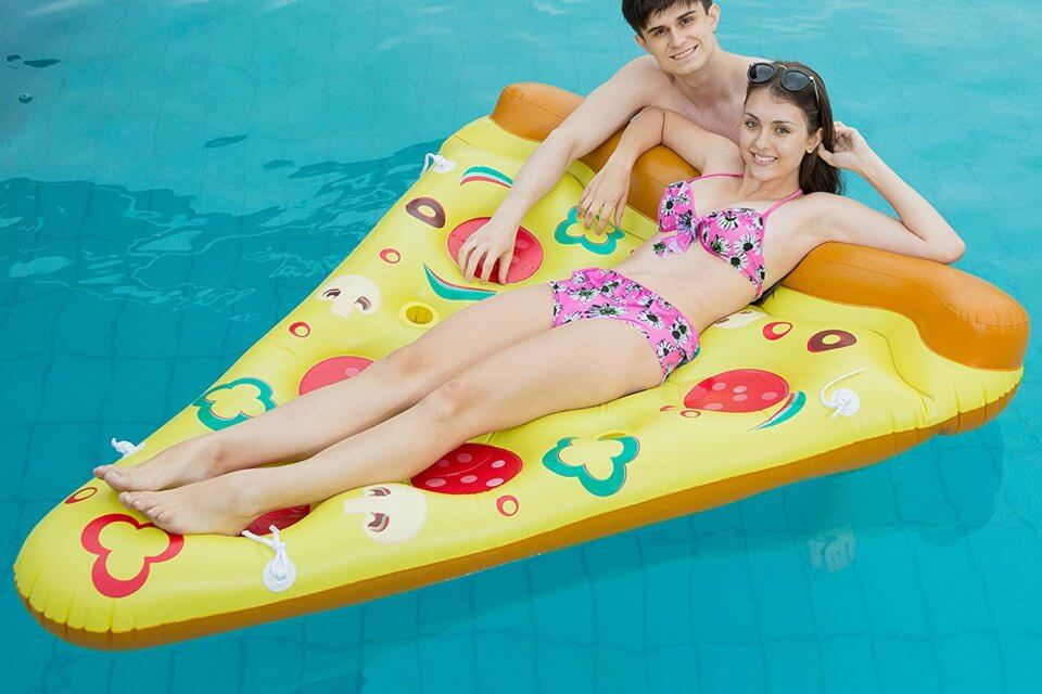 If You Love Pizza, You Need This Pepperoni Pizza Pool Float