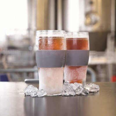 These Freezable Beer Glasses Will Keep Your Favorite IPA Cold For Hours