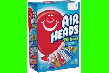 Calling All Candy Freaks: A Giant Box Of Airheads Costs About $10