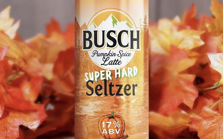 Busch's Pumpkin Spice Latte Hard Seltzer Is Your Fall Drink Dream Come True