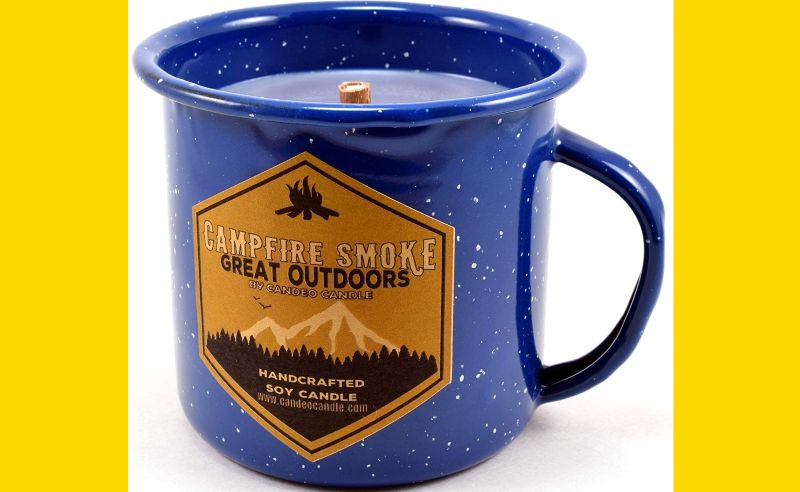 This Campfire Smoke Candle Will Make You Feel Cozy & Ready For Fall