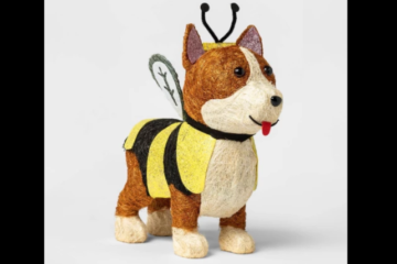 Target Is Selling A Light-Up Corgi In A Bee Costume For Halloween & It's Adorable