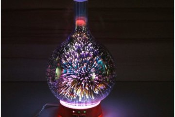 This Firework Essential Oil Diffuser Will Make You Feel So Zen