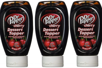 Dr. Pepper Dessert Topping Is A Thing & Your Next Sundae Depends On It