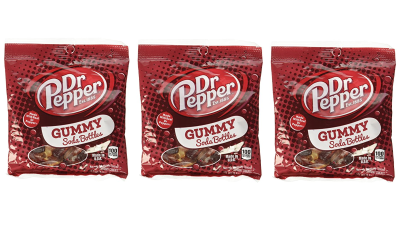 Dr. Pepper Gummy Soda Bottles Taste Just Like The Real Thing & They're Delicious