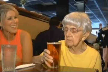 Drinking Beer Is The Secret To A Long Life, Says 102-Year-Old Woman