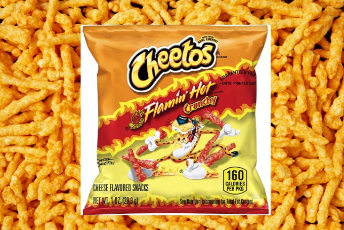 If You Love Flamin' Hot Cheetos, Why Not Buy 40 Bags At Once?