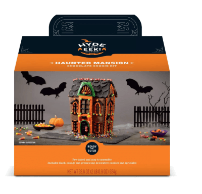 Target Is Selling A Halloween Cookie Manor House & We're Starving Already