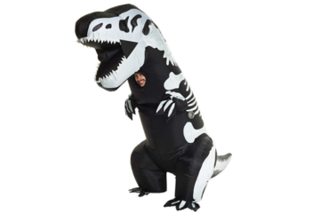 This Inflatable T-Rex Halloween Costume Is Scarily Hilarious