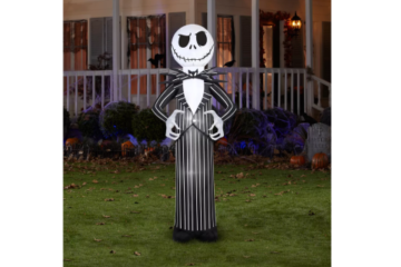 This Inflatable Jack Skellington Is 7 Feet Tall & Perfect For Halloween