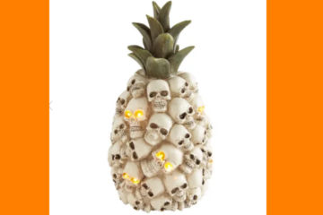 This Light-Up Pineapple Of Skulls Is The Bizarre Halloween Decoration You Never Knew You Needed