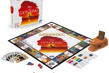 The Lion King Monopoly Game Even Comes With Timon & Pumba Playing Pieces