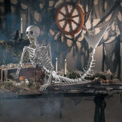 This Mermaid Skeleton Is The Spooky Halloween Decoration Of Our Dreams
