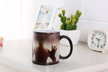 This Color-Changing Zombie Mug Is A Terrifyingly Perfect Way To Drink Your Morning Coffee