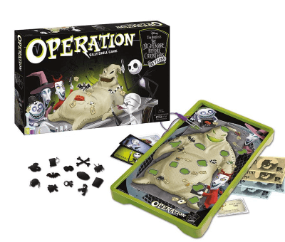 'The Nightmare Before Christmas' Version Of Operation Makes The Classic Game Even Better