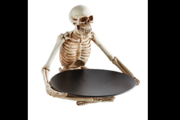 This Skeleton Platter Will Serve Your Halloween Party Guests In Style