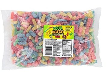 This 5 LB Bag Of Sour Patch Kids Is Calling Your Name, Admit It