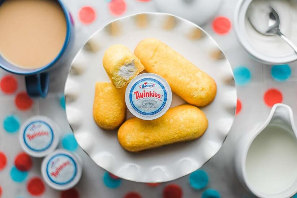Hostess Releases Twinkies Flavored Coffee Pods—BRB, Ordering Immediately