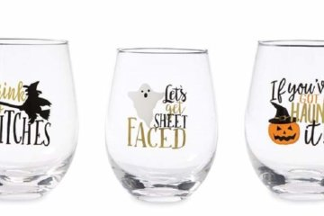 Prep For Halloween With These Jack O'Lantern Wine Glasses Because October's Coming