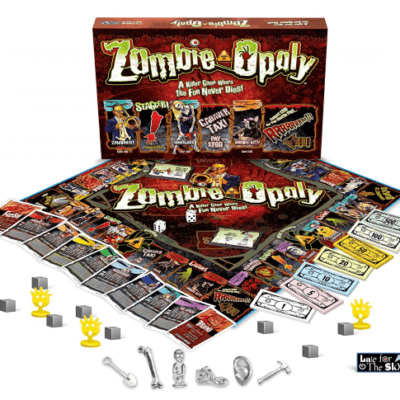 Zombie Opoly Makes Monopoly Way Spookier U0026 A Lot More Fun