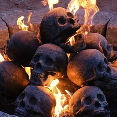 These Fireplace Skulls Will Keep You Warm For The Rest Of This Endless Winter