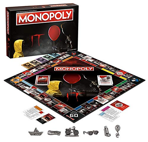 There's An 'IT' Version Of Monopoly & It's Freakier Than Pennywise
