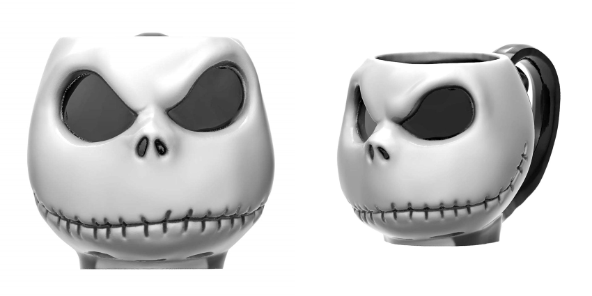 This Jack Skellington Mug Will Make Your Morning Coffee So Much Creepier