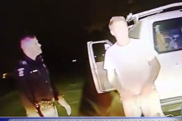 Drunk Guy Pulled Over For 8th DUI Does The Splits During Sobriety Test