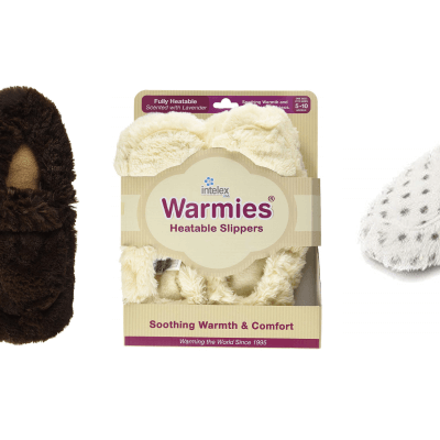 These Microwavable Slippers Will Keep Your Feet Toasty Warm All Autumn Long