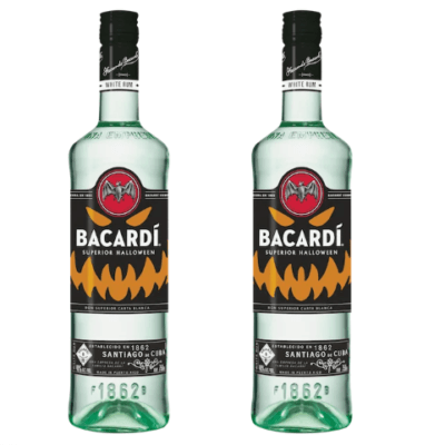 Bacardi Is Releasing A Glow-In-The-Dark Bottle Just In Time For Halloween