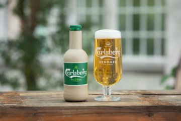 Carlsberg Has Made The World's First Paper Beer Bottle