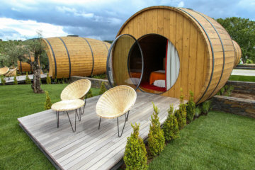 There's A Giant Wine Barrel Hotel In Portugal Where You Can Sip Red All Day Long