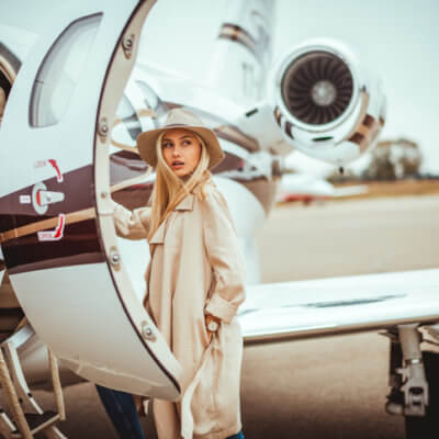 This German Woman Is In A Long-Term Relationship With A Plane & It's Hot And Heavy