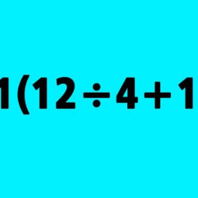 Can You Solve This Simple Math Equation? Much Of The Internet Is Stumped