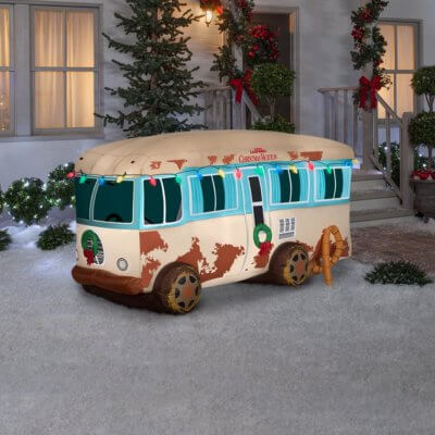 This Inflatable 'Christmas Vacation' RV Will Give Your Lawn The Griswold Treatment