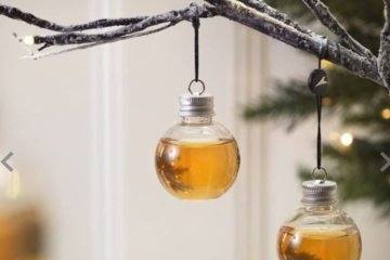 Booze-Filled Christmas Ornaments Will Make Your Holiday Merry And Bright